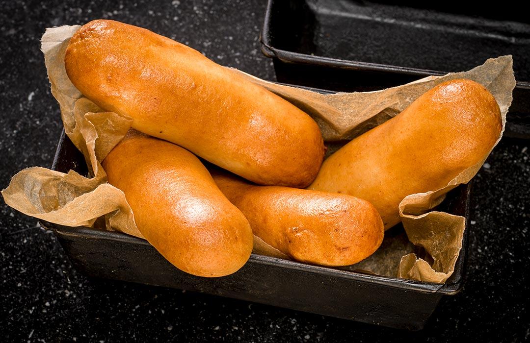 Gistdeeg worstenbrood
