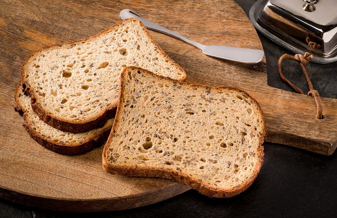 Glutenvrij brood snee Ouni